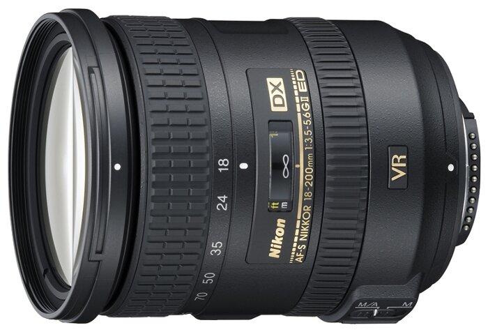 Nikon Объектив Nikon 18-200mm f/3.5-5.6G ED AF-S VR II DX Zoom-Nikkor