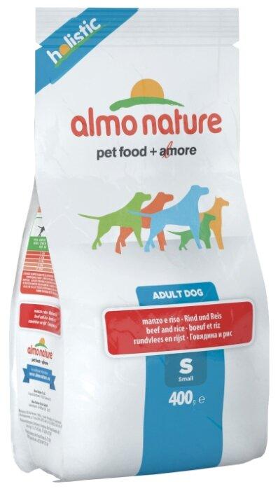 Корм для собак Almo Nature Holistic говядина (для мелких пород)