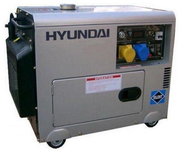 Дизельная электростанция Hyundai DHY-6000 SE-3