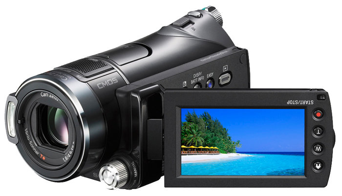 Сравнение с Sony HDR-CX12E