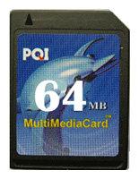 Карта памяти PQI MultiMedia Card 64MB