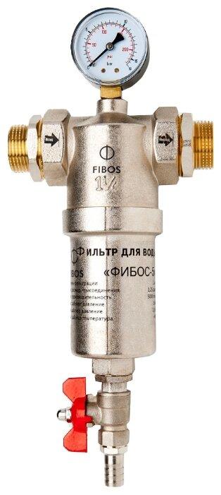 Фильтр механической очистки Fibos Фибос-5 с манометром