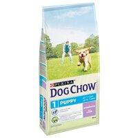 Dog Chow Puppy Junior Корм для Щенков и Юниоров Ягнёнок с Рисом 14кг (71086)