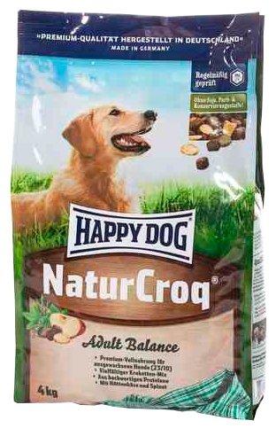 Корм для собак Happy Dog NaturCroq Balance 4 кг