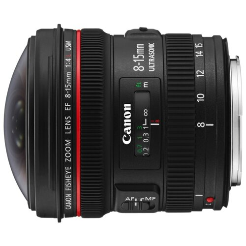 Объектив Canon EF 8-15mm f/4.0L Fisheye USM черный