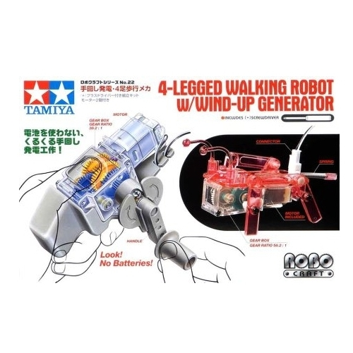 Электромеханический конструктор Tamiya Robo Craft 71122 Шагающий робот