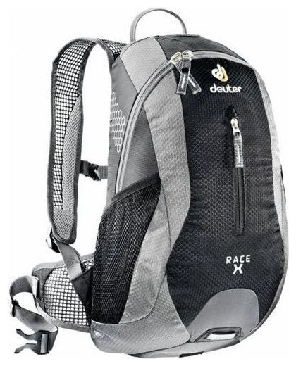 Рюкзак Deuter Race X 12 black/grey
