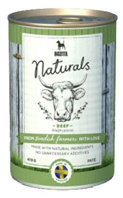 Корм для собак Bozita Naturals говядина 410г