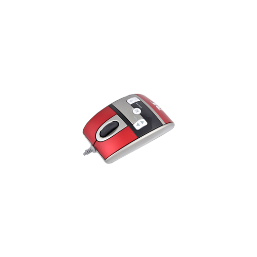 Мышь Modecom MC-319 Red-Silver USB
