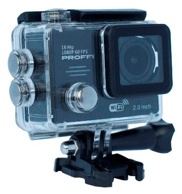 PROFFI Экшн-камера PROFFI PRO Ultra HD 4K