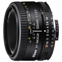 Фотообъектив Nikon 50mm f/1.8D AF Nikkor