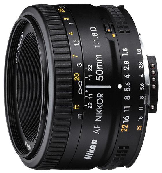 Nikon Объектив Nikon 50mm f/1.8D AF Nikkor