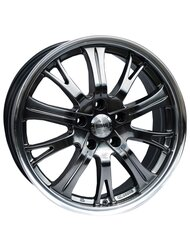 Racing Wheels H-380 7x16 5x112 ET 35 Dia 73.1 HS D/P - фото 1