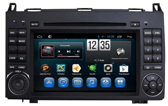 FarCar s180 Mercedes-Benz A ,B, Sprinter, Viano ,VW Crafter на Android 4.4 (q068)