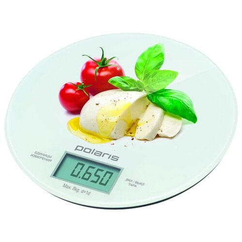 Кухонные весы Polaris PKS 0835DG Caprese весы кухонные polaris pks 0545d bamboo