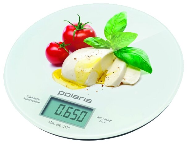 Кухонные весы Polaris PKS 0835DG