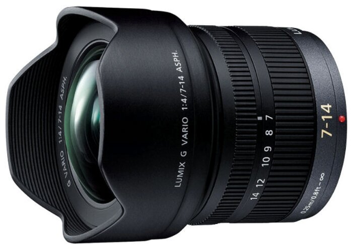 Panasonic 7-14mm f/4.0 Aspherical (H-F007014E)