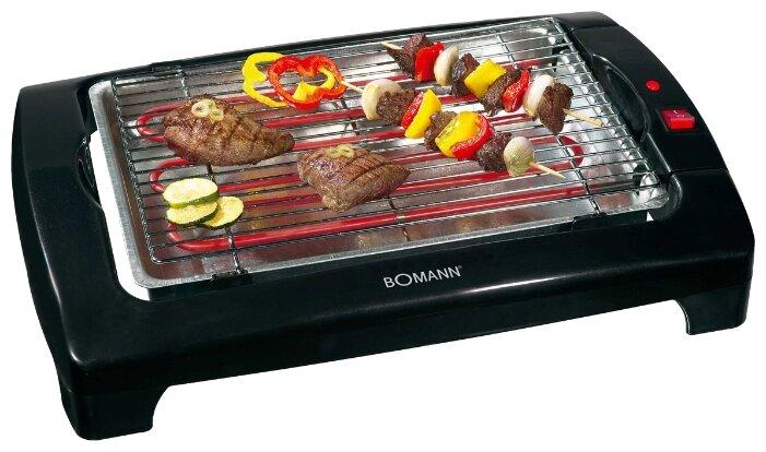 Bomann BQ 1240 N, Black гриль-барбекю