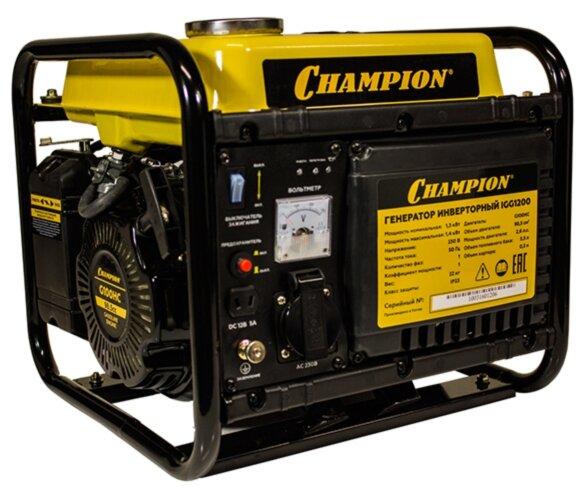 Бензиновый генератор CHAMPION IGG1200 (1300 Вт)
