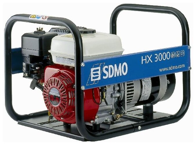 Бензиновый генератор SDMO HX3000 (3000 Вт)