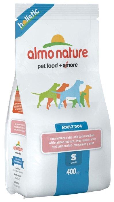 Корм для собак Almo Nature Holistic Adult Dog Small Salmon and Rice