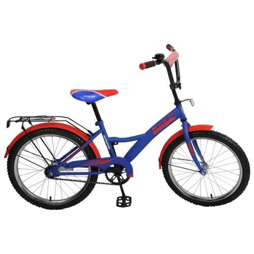 Детский велосипед Navigator Basic (ВН20153) синий/красный (требует финальной сборки) велосипед детский navigator вн20214 basic