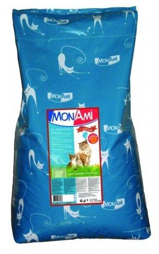 MonAmi Сухой корм для кошек Сердце (10 кг)
