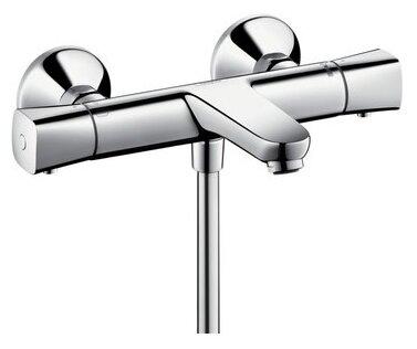 Смеситель для ванны с душем hansgrohe Ecostat Universal 13123000 двухрычажный с термостатом хром