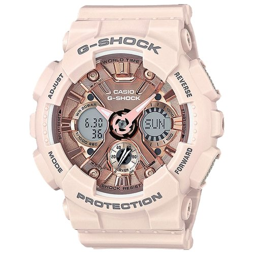 цена Наручные часы CASIO GMA-S120MF-4A онлайн в 2017 году