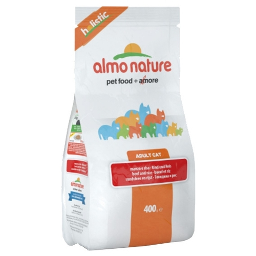 Almo Nature (2 кг) Holistic Adult Cat Beef and Rice Корма для кошек