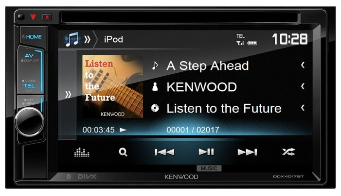 KENWOOD DDX4017BTR