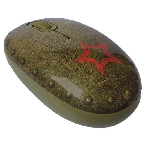 Мышь CBR Tank Battle Brown USB коричневый