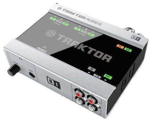 Внешняя звуковая карта Native Instruments Traktor Audio 6