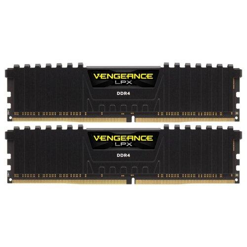 Купить Оперативная память Corsair DDR4 3000 (PC 24000) DIMM 288 pin, 8 ГБ 2 шт. 1.35 В, CL 15, CMK16GX4M2B3000C15