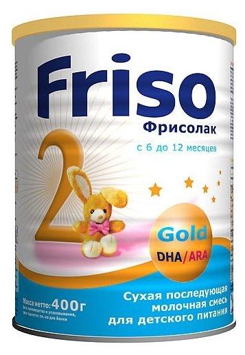Смесь Friso Фрисолак 2 Gold (с 6 до 12 месяцев) 400 г