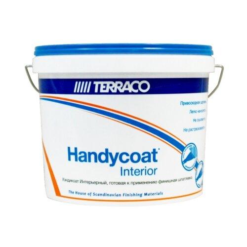 Фото - Шпатлевка Terraco Handycoat Interior, белый, 25 кг шпатлевка готовая terraco handycoat all purpose универсальная 25кг арт 6311225