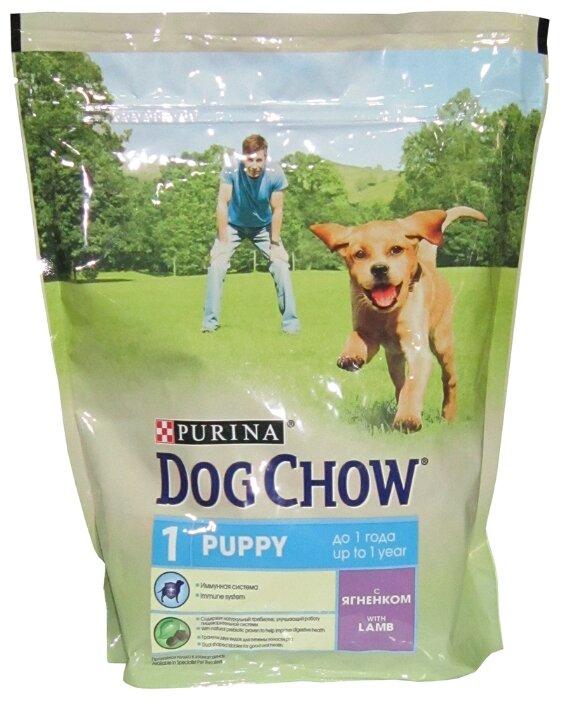 Корм для собак DOG CHOW Puppy с ягненком для щенков