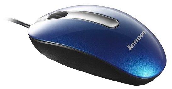 Мышь Lenovo M3803 Navy Blue USB