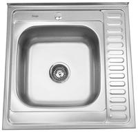 Накладная кухонная мойка SinkLight 6060