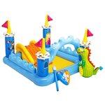 Игровой центр Intex Fantasy Castle Play Centre 57138 с горкой