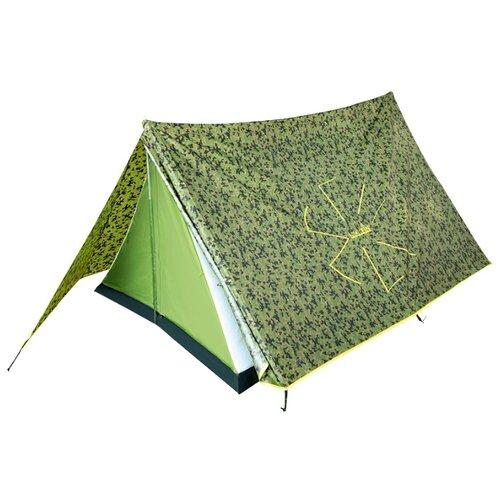 Палатка NORFIN Tuna 2 зеленый/серый/желтый палатка btrace talweg 2 зеленый
