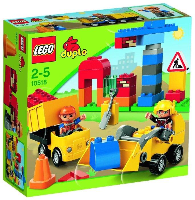 Конструктор LEGO DUPLO 10518 Моя первая стройплощадка