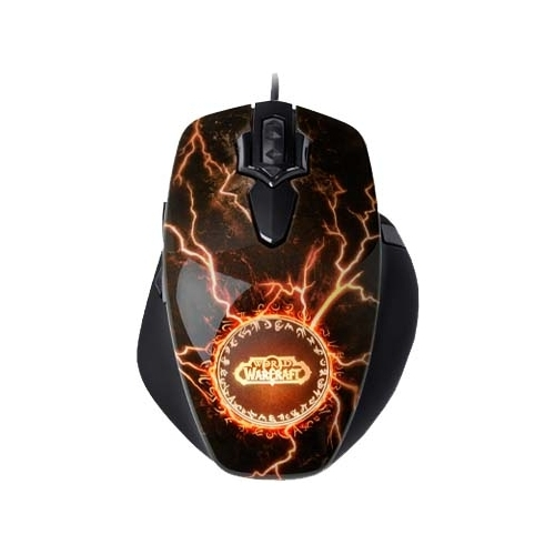 Мышь SteelSeries World of Warcraft Legendary Edition Gaming Mouse Laser Black USB