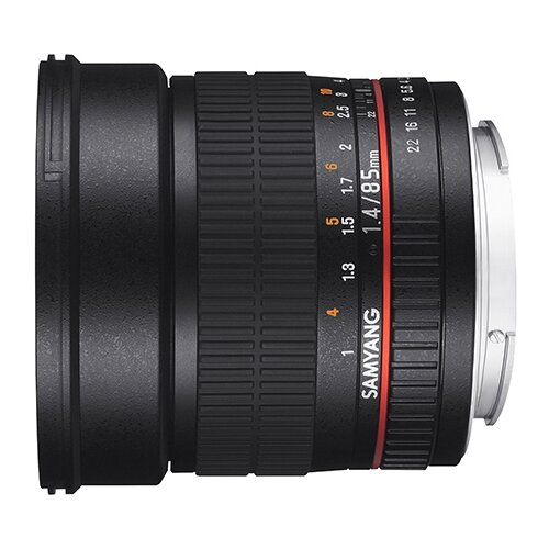 Фото - Объектив Samyang 85mm f/1.4 AS IF UMC Canon EF объектив samyang 85mm f 1 8 ed umc cs fujifilm x