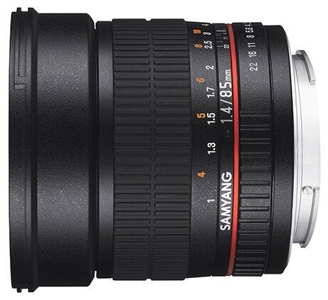 Объектив Samyang 85mm f/1.4 AS IF UMC Samsung NX