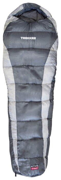 Спальный мешок ECOS Trekker серый