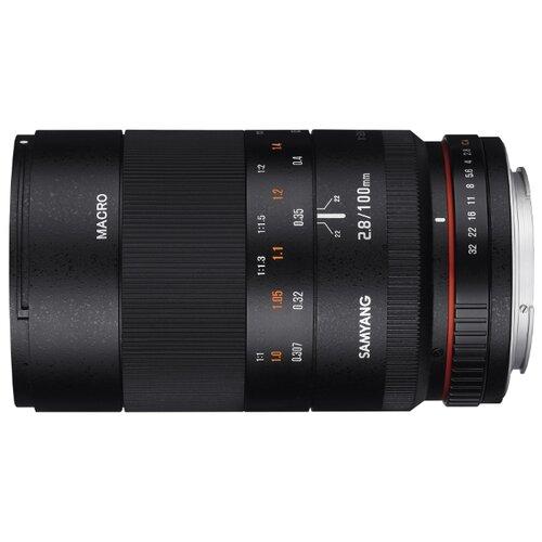 Фото - Объектив Samyang 100mm f/2.8 ED UMC Macro Fujifilm X объектив samyang 85mm f 1 8 ed umc cs fujifilm x