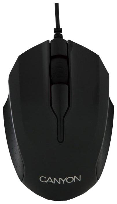 Мышь Canyon CNR-FMSO02 Black USB