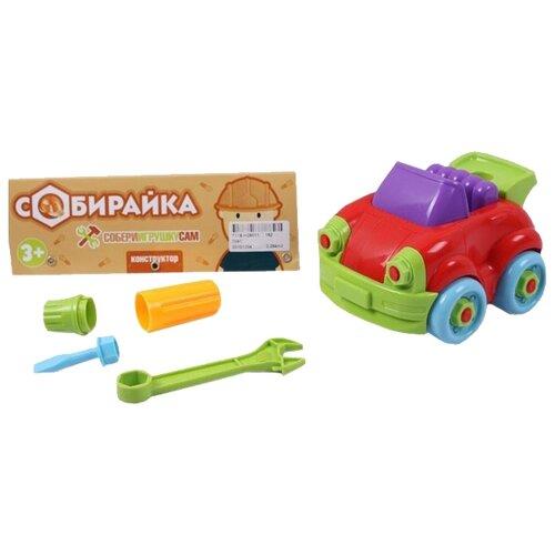 Конструктор Joy Toy Собирайка 7091 Машина трансформер joy toy бомбардир