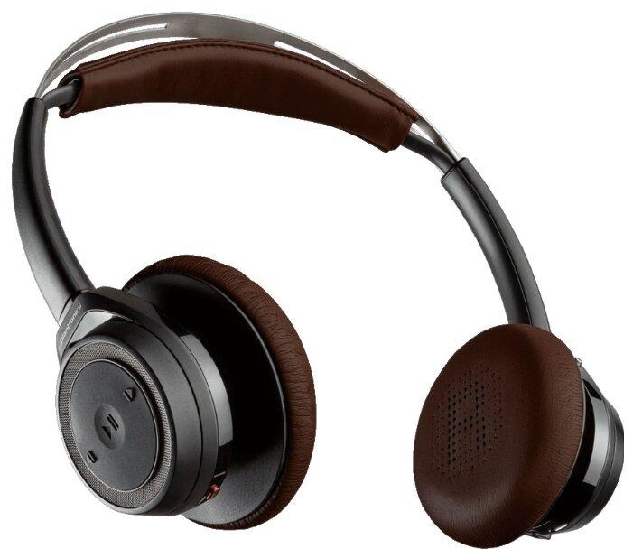Plantronics BackBeat Sense, Black Bluetooth-гарнитура